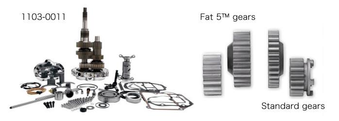 ジムズ FAT 5 5-SPEED オーバードライブ スーパーギアキット