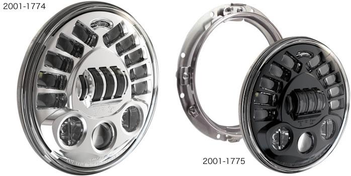 J.W.スピーカー 7インチLED アダプティブ 2 ヘッドライト