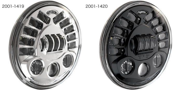 J.W.スピーカー 7インチ LED ヘッドライト