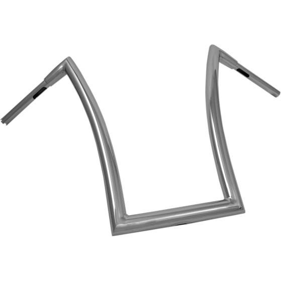 1.5インチ径 ストリップ ハンドルバー クローム 20インチ