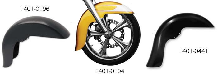 クロックワークス WFBベンチマークシリーズ フロントフェンダー 99-13ドレッサー用