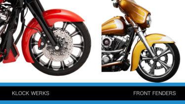 クロックワークスのフロントフェンダー ハガーシリーズとベンチマークシリーズP1586