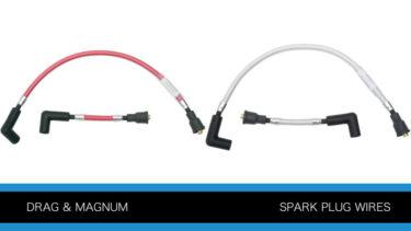 ドラッグ社とマグナムのスパークプラグワイヤーP893