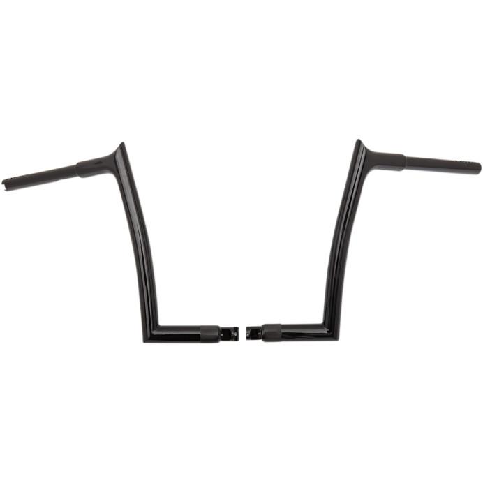 EZ ポインテッドトップ ハンドルバー 12インチグロスブラック