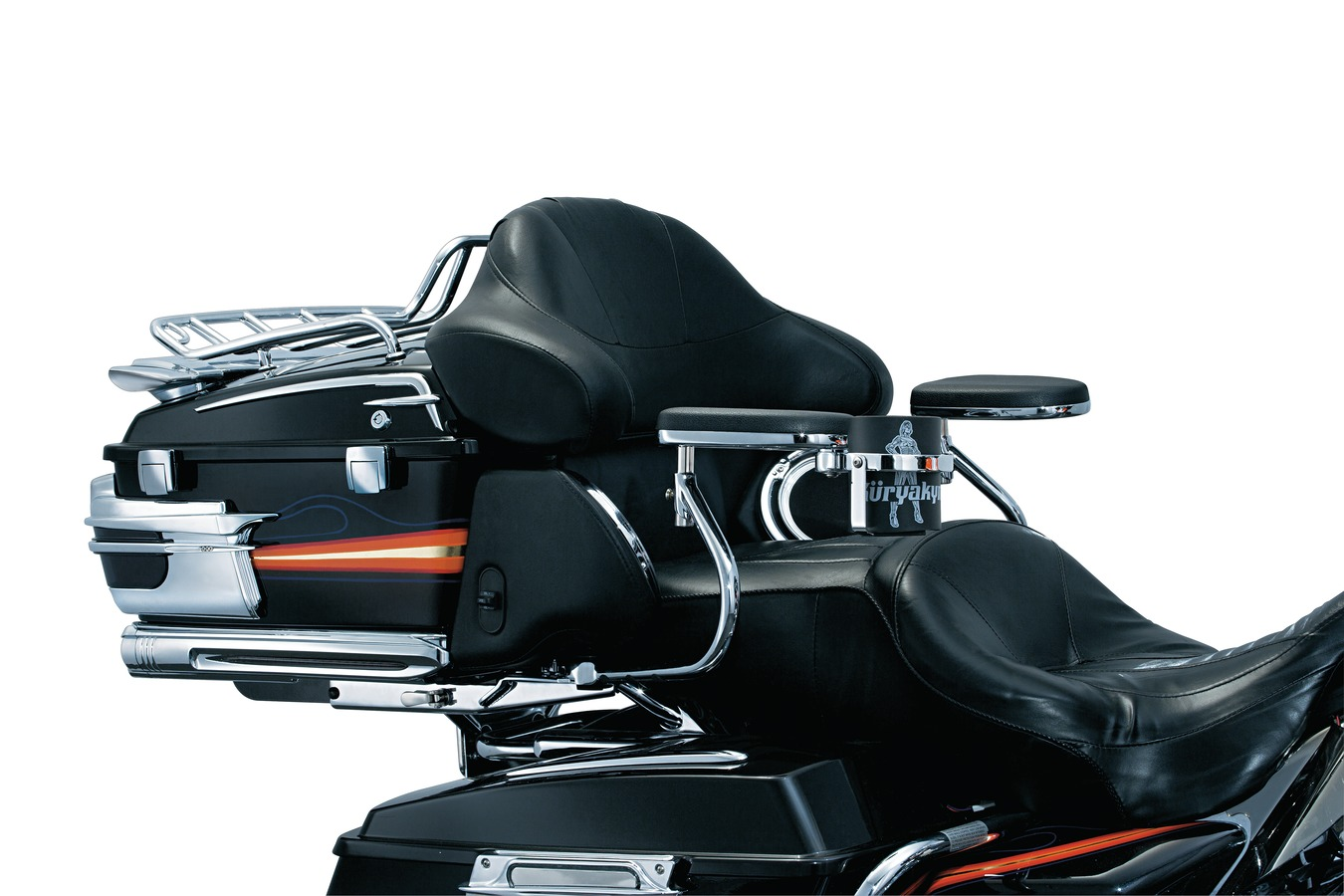 クリアキン QUICK-DETACHクイックデタッチャブル パッセンジャー アームレスト 取り付け ドリンクホルダー付き