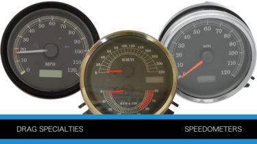 ドラッグスペシャリティーズの交換用スピードメーターとミニスピードメーター一覧P1462