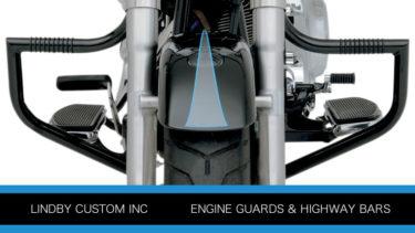 リンビーのエンジンガードとハイウェーバーの全ラインナップ一覧